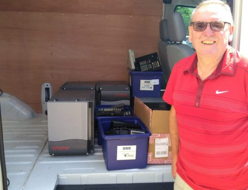 Louisa Voice Sells and Delivers Used Telecommunications Equipment for Rotary