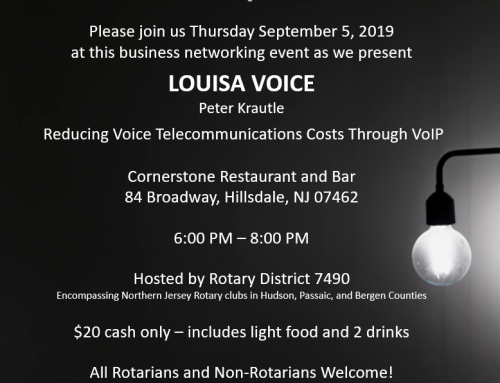 Rotary Means Business District 7490 Event September 5, 2019
